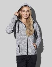 Active Knit Fleece Jacket for women