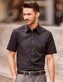 Men`s Short Sleeve Fitted Tencel® Shirt